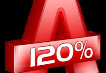Alcohol 120 logo