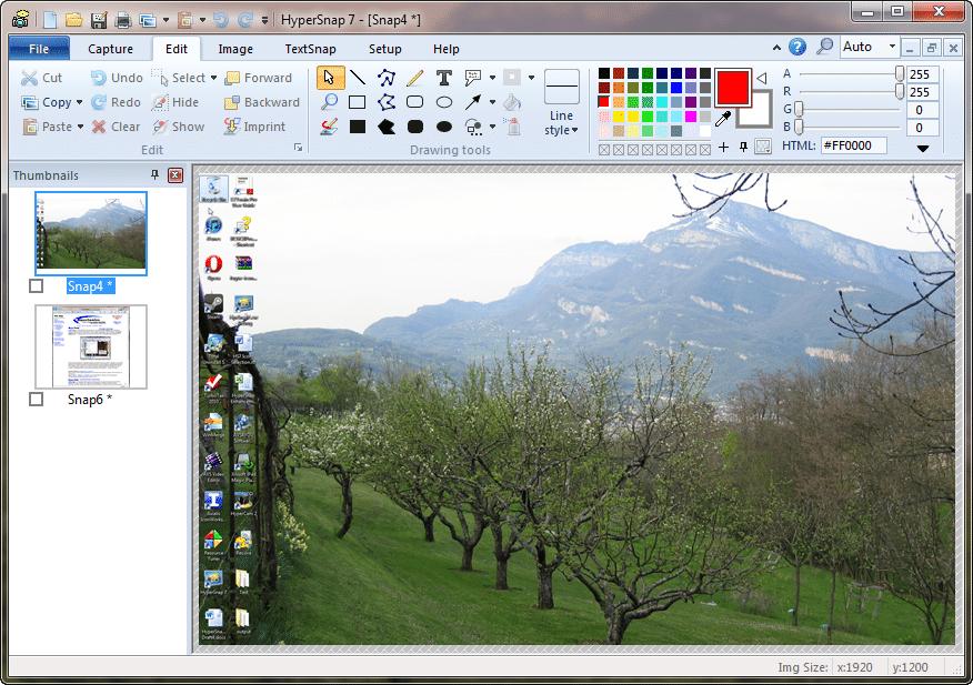 HyperSnap 8 screenshot
