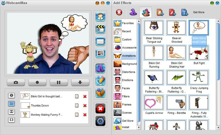 WebcamMax screenshot