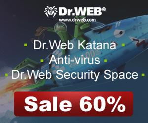 Dr.Web Anti-virus – 60% OFF until Feb 29