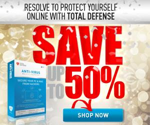 Total Defense Internet Security – 50% OFF