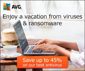 AVG 2016 Sale – up to 45% OFF