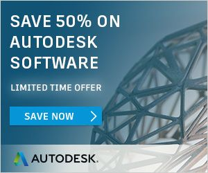 Autodesk Products – 50% OFF