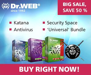 Dr.Web Security Space – 50% OFF