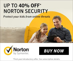 Norton by Symantec – up to 40% OFF