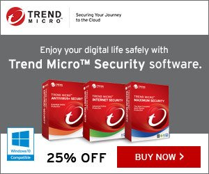 Trend Micro 2017 Security – 25% OFF!
