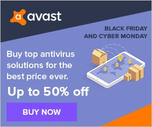 avast Security Cyber Week Sale – 50% OFF