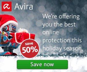 Avira 2017 Products Sale – 50% OFF