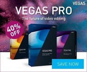 VEGAS Pro 14 – 40% OFF