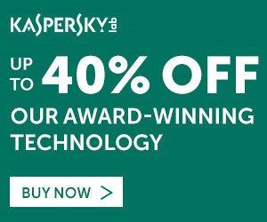 Kaspersky 2017 Summer Sale – 40% OFF