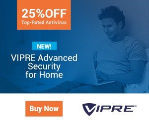 VIPRE Advanced Security for Home 2017 – 25% OFF
