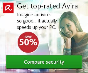 Avira 2018 Products Sale – 50% OFF