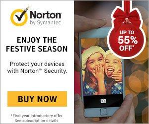 Norton by Symantec Festive Sale – 60% OFF