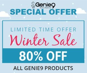 Genie Timeline Sale – 80% OFF on ALL Products